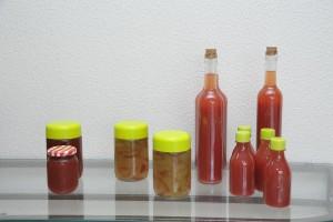 Produtos derivados da melancia (licor, compotas, geleia, etc)