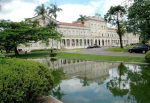 Fachada da Esalq, onde Olita se formou. Instituição renomada da USP.